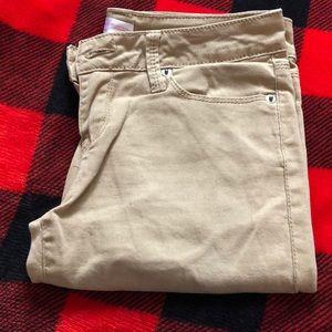 💜3/$15 Skinny skinny Jean khaki